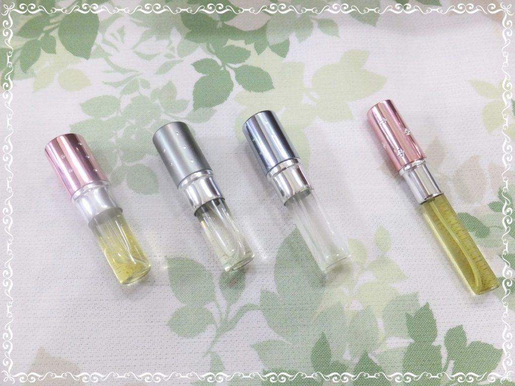 天然精油をブレンドして作る香水