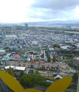 ひらパー秋・観覧車からの眺め