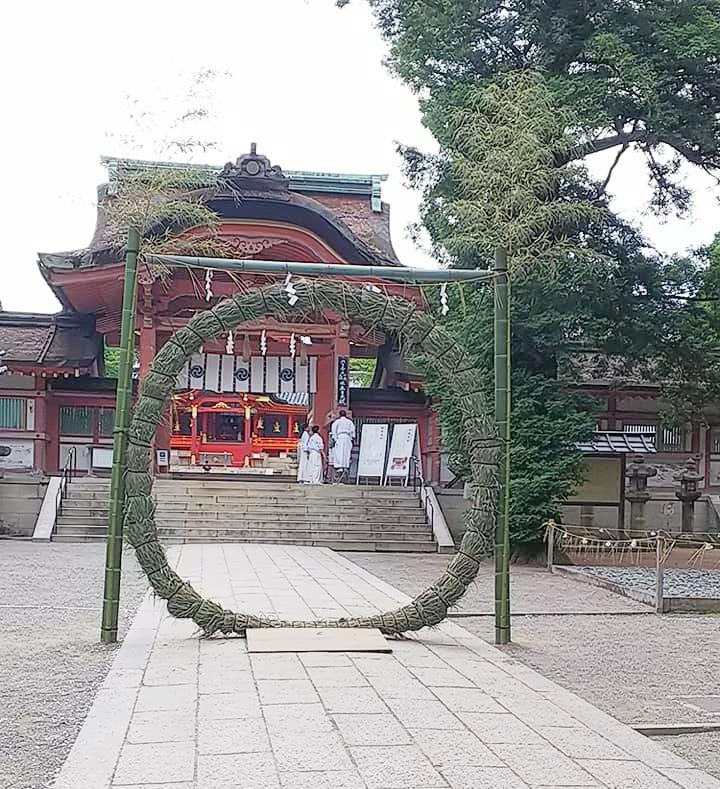 石清水八幡宮 茅の輪